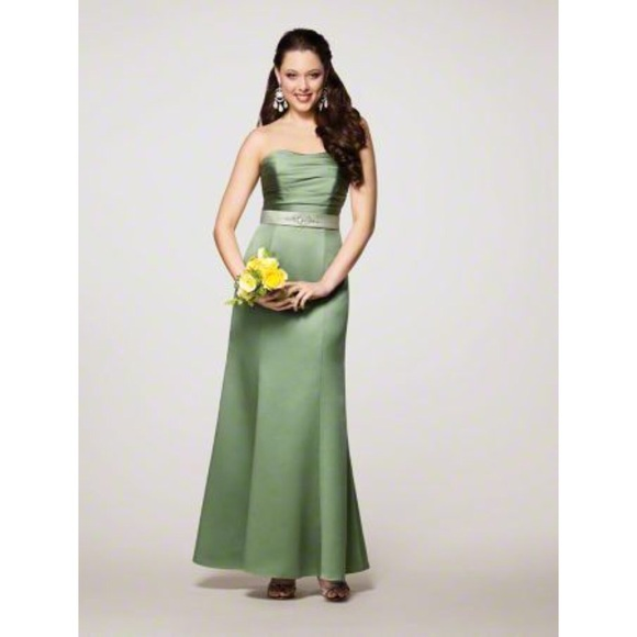 Alfred Angelo Dresses & Skirts - NWT ALFRED ANGELO Green Prom Bridesmaid Dress